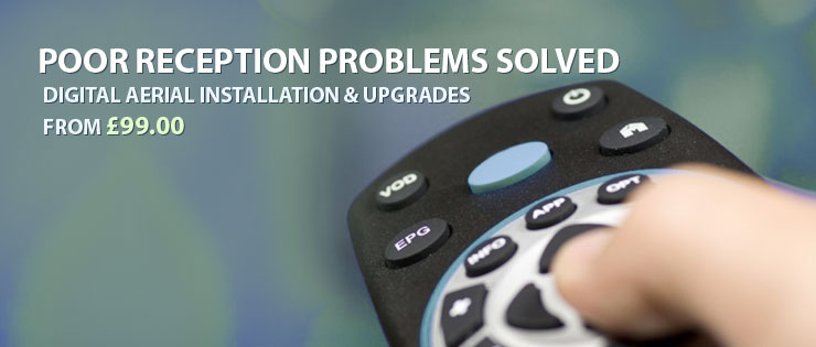 Satellite TV Installation & Repairs